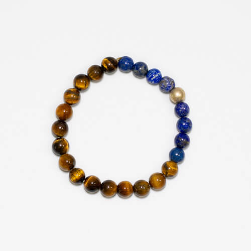 Pulsera Tiger with Lapis
